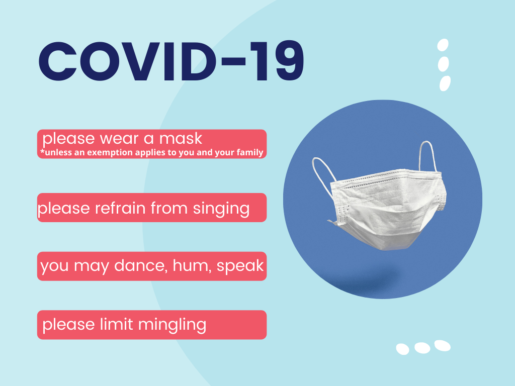 Blue Covid Prevention PPT